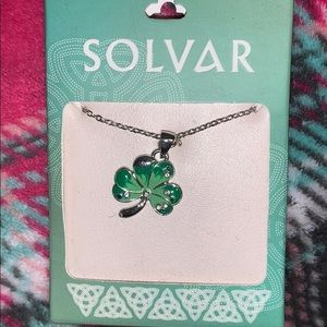 Solvar Shamrock Necklace